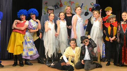 Members of Little Downham Youth Club helped to raise over £500 for future projects by staging their