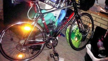 Two pedal cycles stolen from garage in Stretham - they were taken whilst the homeowner was on holida