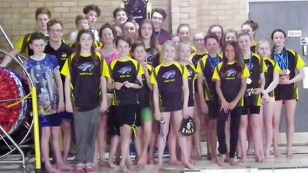 The City of Ely Swimming Club.