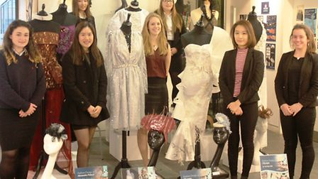 King's Ely A Level fashion and textiles students will be showcasing their flamboyant garment designs