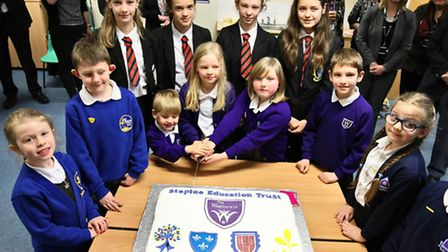 The Weatheralls Primary School has become an academy and joined the Staploe Education Trust.