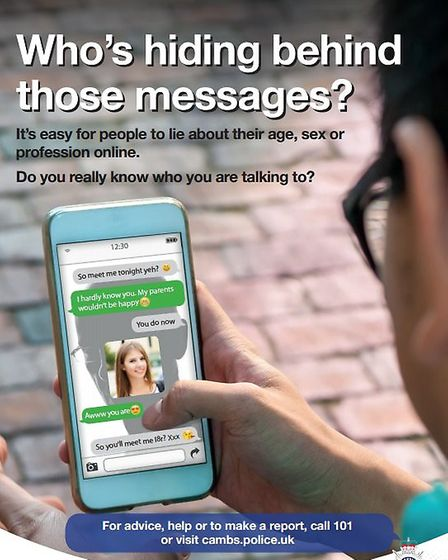 Cambridgeshire Police launch a campaign for people to be aware when texting and to think before pres