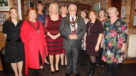 Cllr Michael Allan, chairman of ECDC hosts the annual chairman's reception at Ely Maltings, pictured