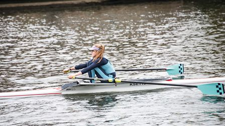 16-year-old Holly Lancaster finished in fifth place overall at the Great British Rowing Junior Team