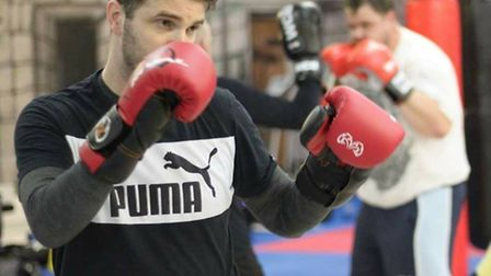 Tony Meads is taking part in the Ultra White Collar Boxing Match to raise money for Cancer Research