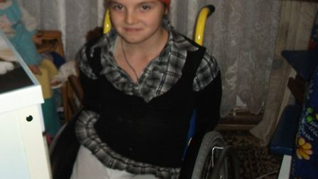 Nastia Laletina who has won prizes for dancing in a wheelchair.