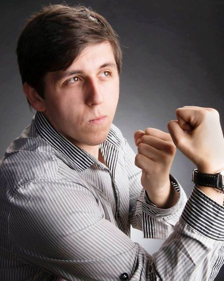 Matt Hoss is one of the comedians who will perform at The Buffs in March. PHOTO: Supplied.