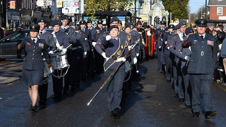 March Remembrance Day Service 2016 PHOTO: Shawn Carter