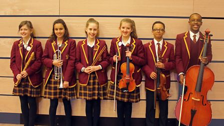 Pupils with music scholarships at Felsted school have won places in national ensembles.