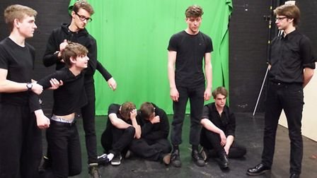 Fifteen teenage drama students at West Suffolk College will take on their most challenging roles yet