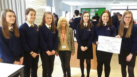 Former Mayor of Ely, Cllr Lis Every visited Ely College as part of their second PLEDGES and Futures