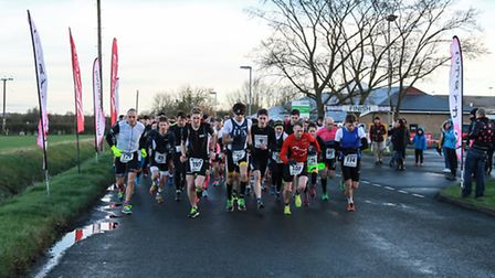 The 2017 Monster Racing Duathlon gets under way at Witcham. PHOTO: Ian Green Photography