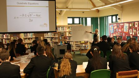 Students at Witchford Village College were taught all about how to revise successfully for their exa