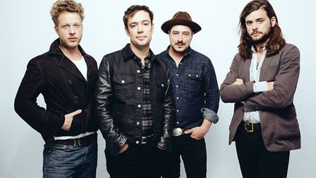 Mumford and Sons will headline the Saturday night with a handpicked line-up of bands. PHOTO: Submitt