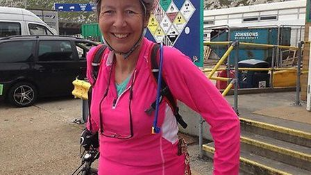 New Lord-Lieutenant of Cambridgeshire, Julie Spence, pictured here on her Land's End to John O'Groat