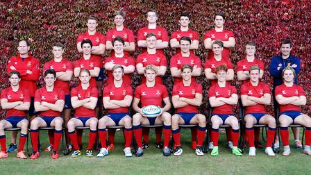 Felsted's rugby team