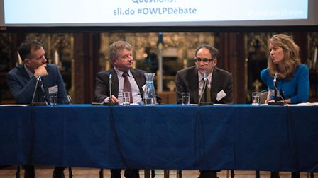 The future of the Ouse Washes Landscape goes under the microscope at cathedral debate. PHOTO: Suppli