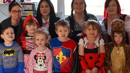 Children and staff at Clarence House day nursery in Chatteris dressed up as their favourite characte