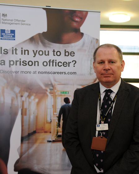 Will Styles, governor at HMP Whitemoor welcomed Liz Truss, Justice Secretary, during her visit to th
