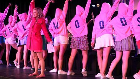 Viva Soham's dazzling 'Legally Blonde' is 'another vibrantly energised musical production'.