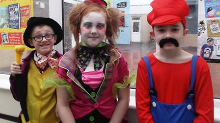 Children at Cavalry Primary School in March held a series of events as part of its 'book week'. PHOT