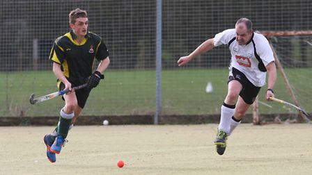 Action from Ely City's 6-1 win over Leadenham 1sts in Division Three North-West of the East Leagues.