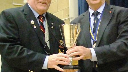 The Chatteris branch of the Royal British Legion was honoured for its 'progress and efficiency' when