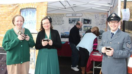 Viva's Street Life Tour, which takes a trip down memory lane to World War Two, began in Littleport o