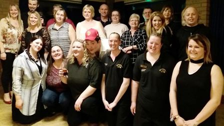 Saturday March 4 Littleport Leisure Centre staff, members, family, friends and supporters said their