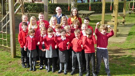 Arkenstall Primary School in Haddenham has been praised by Ofsted for creating a happy and friendly