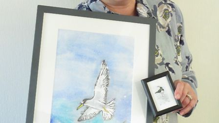 Sarah Buck, one of the artists who will be showcasing her work at the Ely Watercolour Workshop Sprin