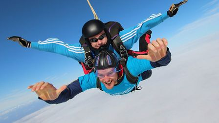 Parkinson's UK is inviting people in Fenland join Team Jump June and challenge themselves to a skydi