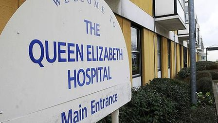 Queen Elizabeth Hospital chief operating officer Karen Croker has issued an appeal for people to see