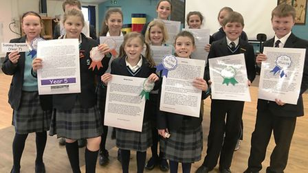 All things reading, spelling and creative writing were celebrated during an annual festival held at
