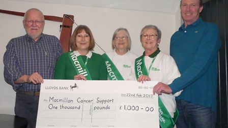Fundraising has got off to a flying start in 2017 for the Macmillan Cancer Support March, Chatteris