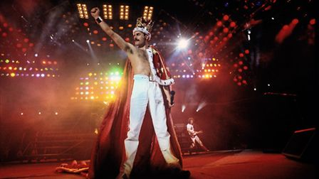 One night only exhibition of rare Queen photographs coming to Cambridge. A Kind of Magic Tour, Wembl