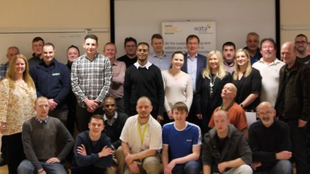 'Graduation Day' for a group of job seekers in Cambridgeshire who have seen their career paths fast-