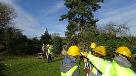 Trainees learning their trade during the pilot training programme at West Anglia Training Associatio
