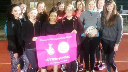 The East Cambs-based Fenatics Netball Club has received a funding boost from the National Lottery. P