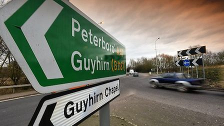 Guyhirn on the A47 Highways England are consulting the public on their proposed plans PHOTO: Rob How