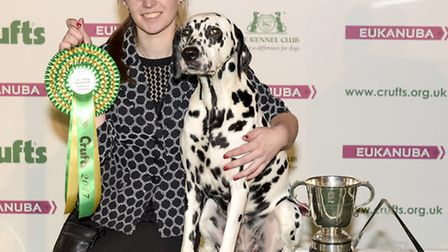 The winner of the Young Kennel Club Stakes competition at Crufts 2017 was Charlotte-Louise Page from