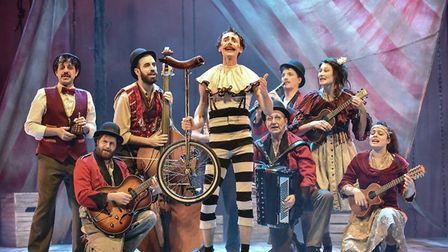 La Strada is coming to the Cambridge Arts Theatre later this month.