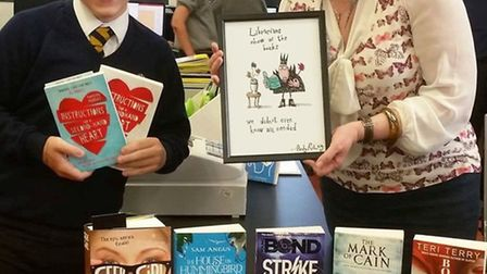 Ely College student Harry Sindle was one of five students shortlisted from school librarians across