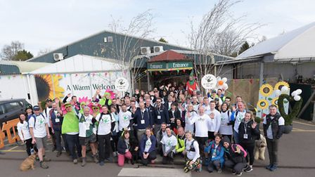 Scotsdales Garden Centre helped raise 22,500 for the Greenfingers Charity through their third annual
