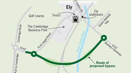 The new route will bypass the railway level crossing and underpass by providing a new link between S