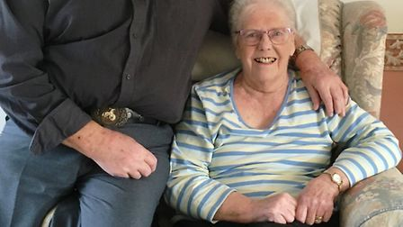 John and Audrey Parsler are celebrating their 60th wedding anniversary on March 23 2017 - they were