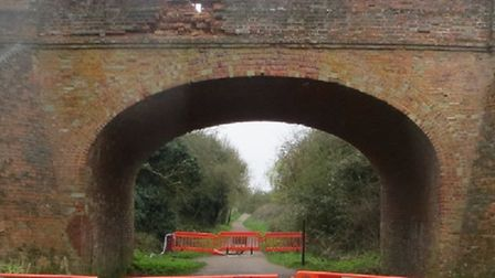 The Rayne Bridge is closed after a road accident caused extensive damage