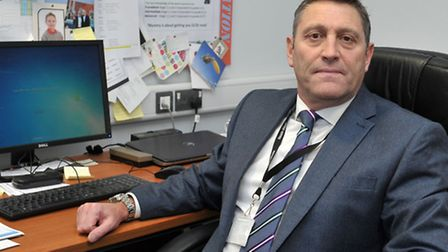 Jason Wing Principal of Neale Wade Academy, March, who has ensured extra staff are on hand to suppor