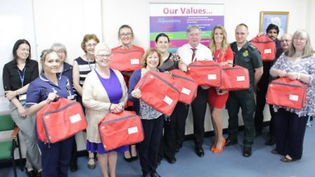 Red bag scheme being introduced at 15 care homes PHOTO: QEH King's Lynn