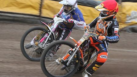 Mildenhall Fen Tigers' Connor Mountain (right) will be part of the D Palmer & Sons team at the Fen F